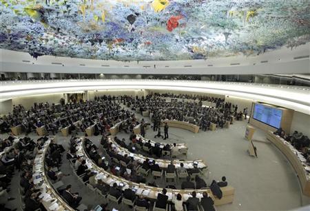 دبلوماسيون: مجلس حقوق الانسان يعقد جلسة خاصة بشأن سوريا