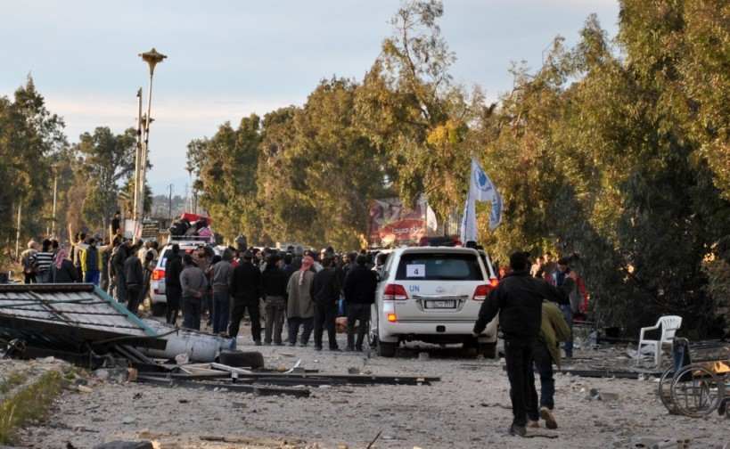 لم يفعل المجتمع الدولي شيئاً لحماية هؤلاء المدنيين طيلة ثلاثة أعوام، ولكنه قدّم لهم الحماية أثناء إخراجهم من منازلهم!