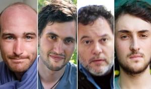 اختطف الصحفيون الفرنسييون الأربعة قبل عشرة أشهر تقريباً