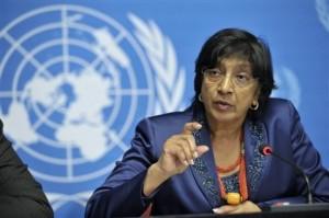 قالت نافي بيلاي، المفوض السامي لحقوق الإنسان، إن التعذيب يُستخدم بشكل روتيني في مرافق الاحتجاز الحكومية في سورية