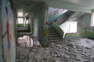 تعرّضت أكثر من 3000 مدرسة للدمار الكلي أو الجزئي نتيجة للقصف العشوائي