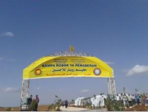 تم إنشاء مخيم في عفرين لاستقبال النازحين من عين العرب