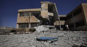 تم استهداف أكثر من ألفي مدرسة في كل أنحاء سورية حتى الآن (الصورة تعبيرية)