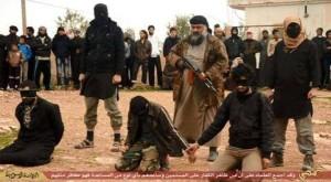 يحرص التنظيم في كثير من الأحيان على تنفيذ عمليات الإعدام في أمام الجمهور، وبحضور الأطفال