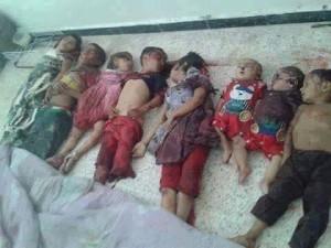 من ضحايا المجزرة