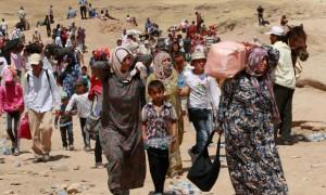 لا تعترف أي من دول الجوار باللاجئين السوريين كلاجئين، وتمنحهم بدلاً من ذلك صفة ضيوف