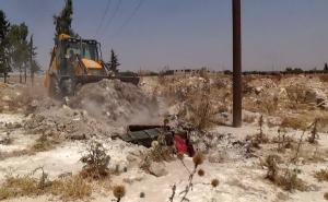 ربما تعود الجثث إلى معارك السيطرة على معسكر الحامدية في كانون الأول/ديسمبر 2014