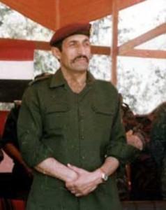 تم ارتكاب مجزرة حي المشارقة على يد الوحدات الخاصة، والتي كان يرأسها آنذاك اللواء علي حيدر