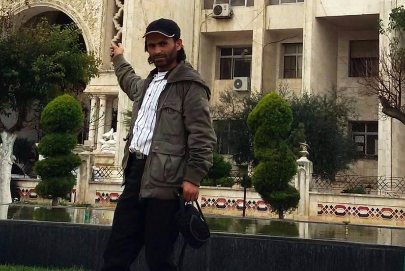 الناشط الإعلامي جمعة الأحمد