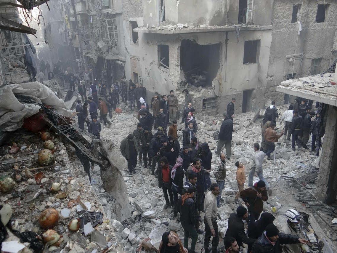 فشل المجتمع الدولي إلى اليوم في إدانة النظام السوري لاستخدامه البراميل المتفجرة