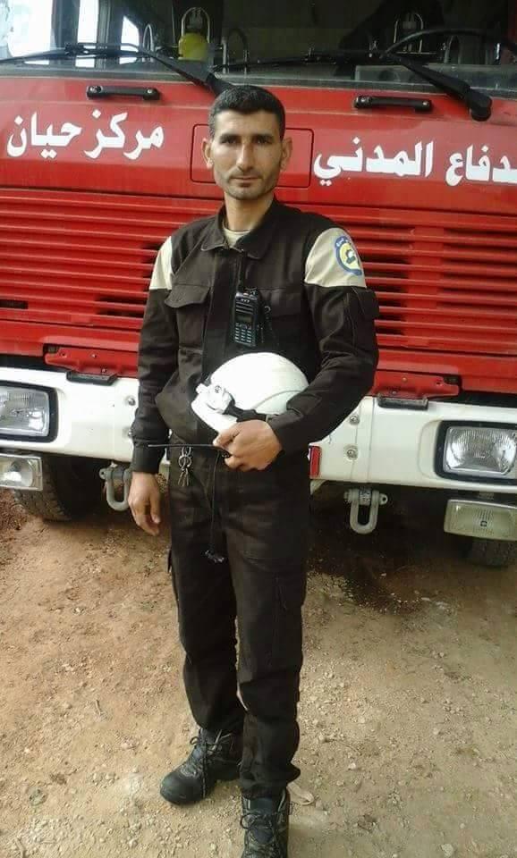 قُتل مروان عبد الكريم دعبول أحد عناصر الدفاع المدني