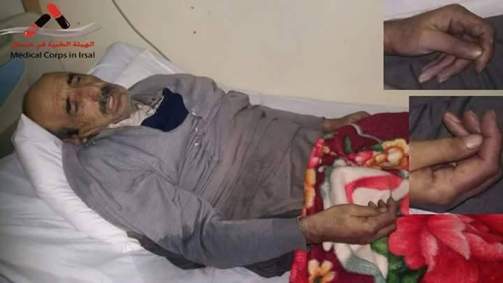توفي عبد الله محمد الطالب نتيجة البرد القارص