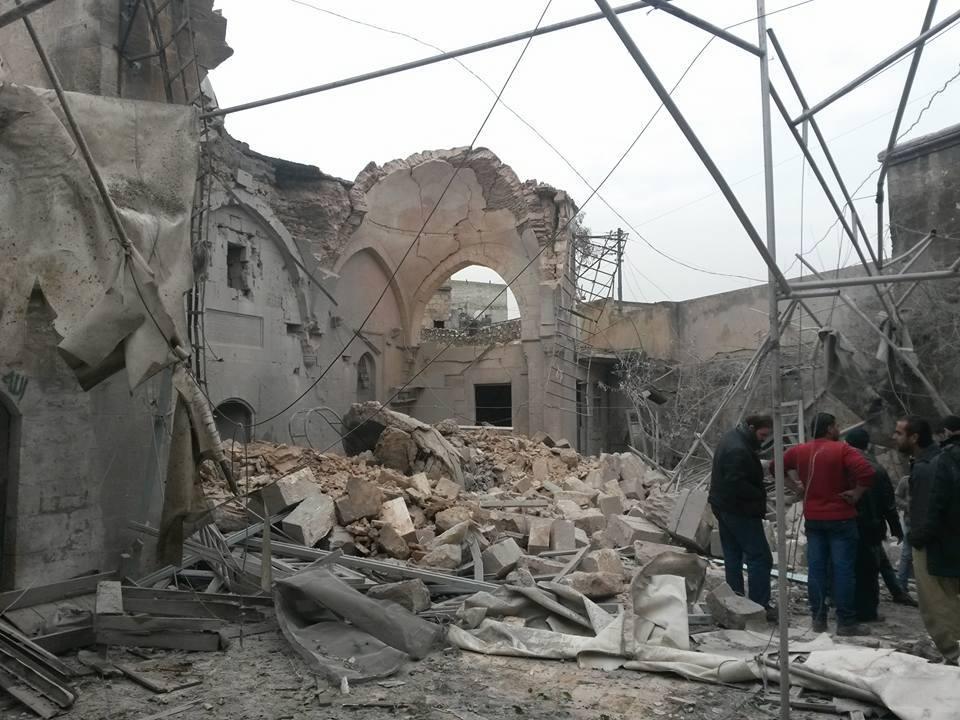 تم استهداف المسجد أثناء تواجد المصلين لأداء صلاة العصر