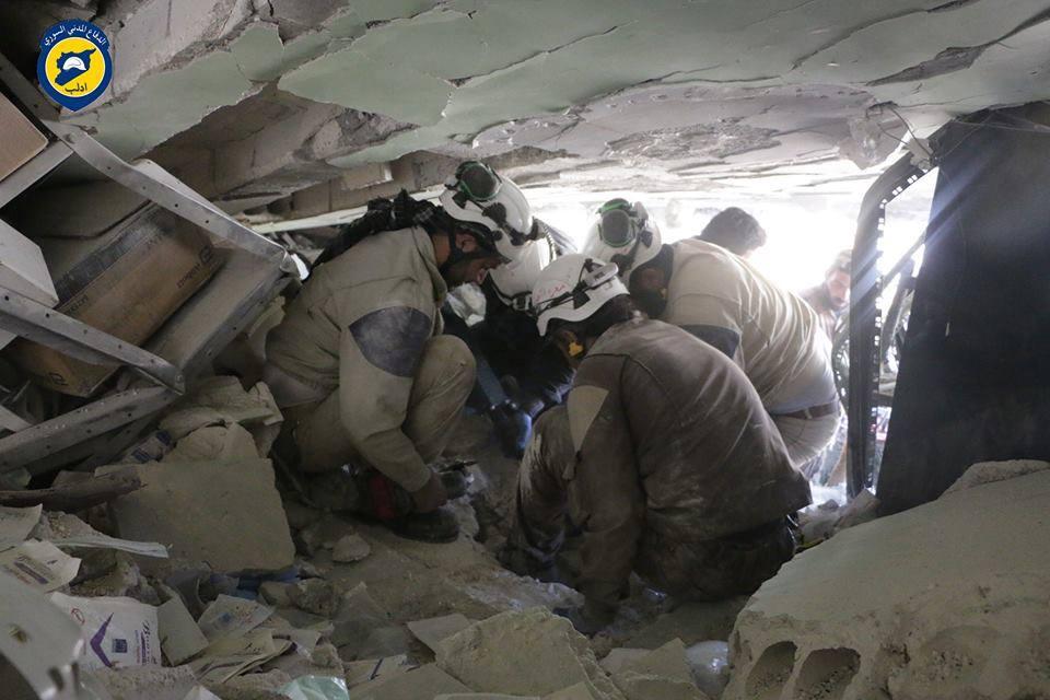 استغرق انتشال الضحايا حوالي 50 ساعة عمل