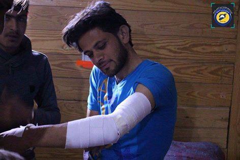 أبو عمار، قائد مركز الدفاع المدني الذي تعرّض للاستهداف اليوم في دير العصافير