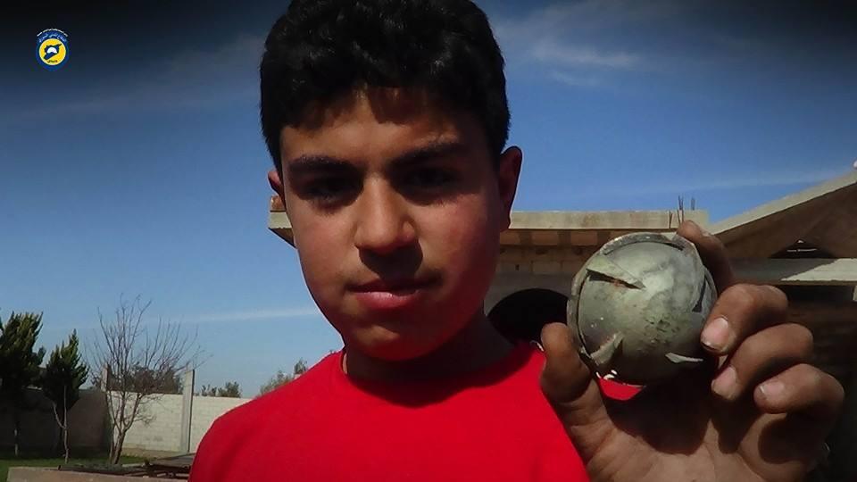تعرّضت الحلموز والدار الكبيرة والغنطو وتيرمعلة إلى القصف بالقنابل العنقودية يوم أمس الخميس