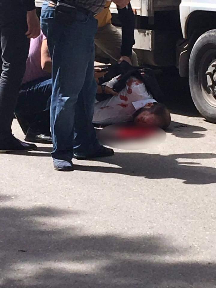 أصيب الشرقاط بجروح خطيرة نتيجة للاستهداف