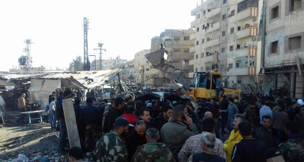 وقع الانفجار عند حاجز أمني في منطقة السيدة زينب