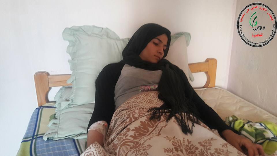 فقدت السيدة غادة جمال قدرتها على النطق بسبب إصابتها المتقدمة بالمرض
