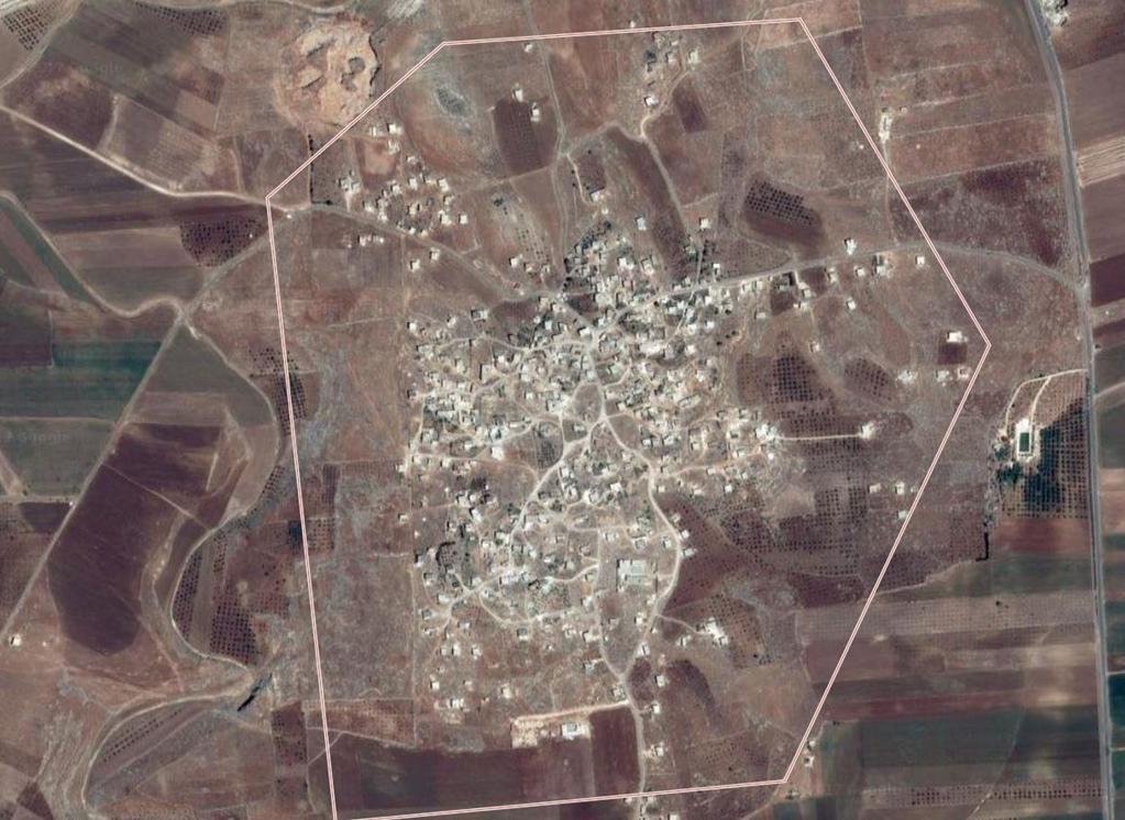 تقع بلدية عابدين في ريف إدلب الجنوبي