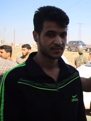 أحد مقاتلي المعارضة المسلحة المفرج عنهم في الصفقة