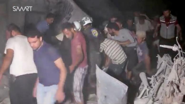 ضحايا في ادلب