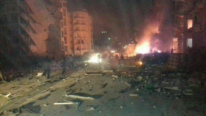 انفجار سيارة في ادلب