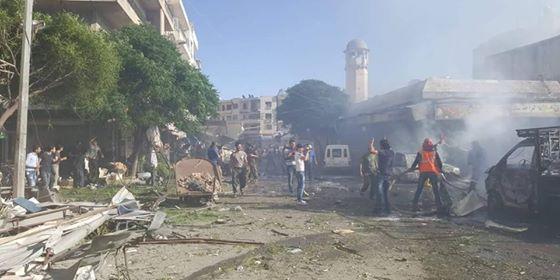 انفجار-ادلب