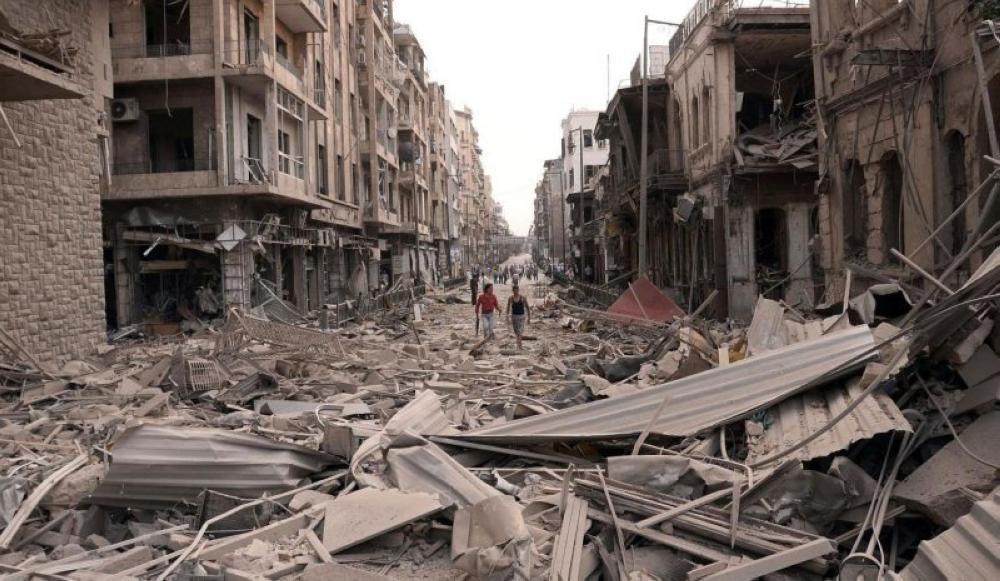 دمار سوريا
