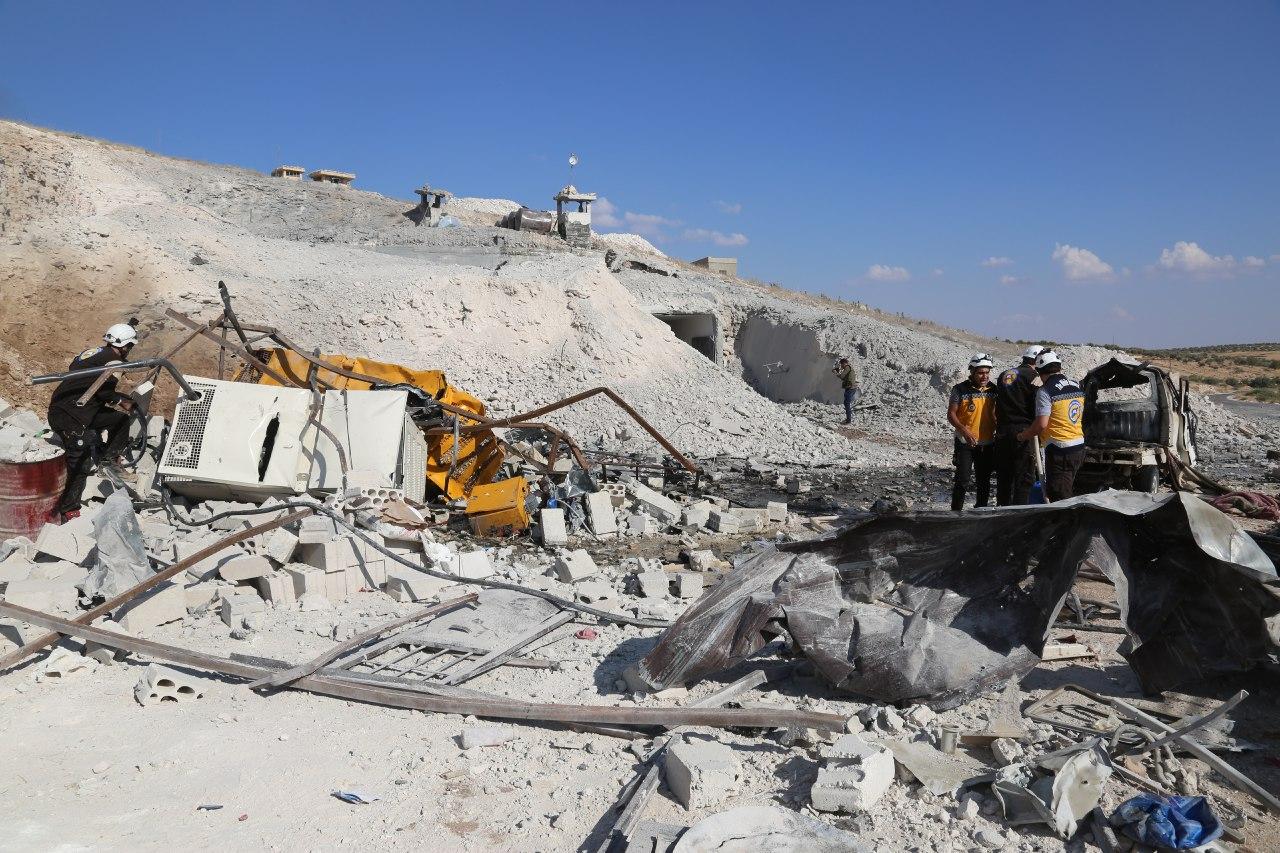 مشفى بلدة حاس-عدسة اللجنة السورية لحقوق الإنسان