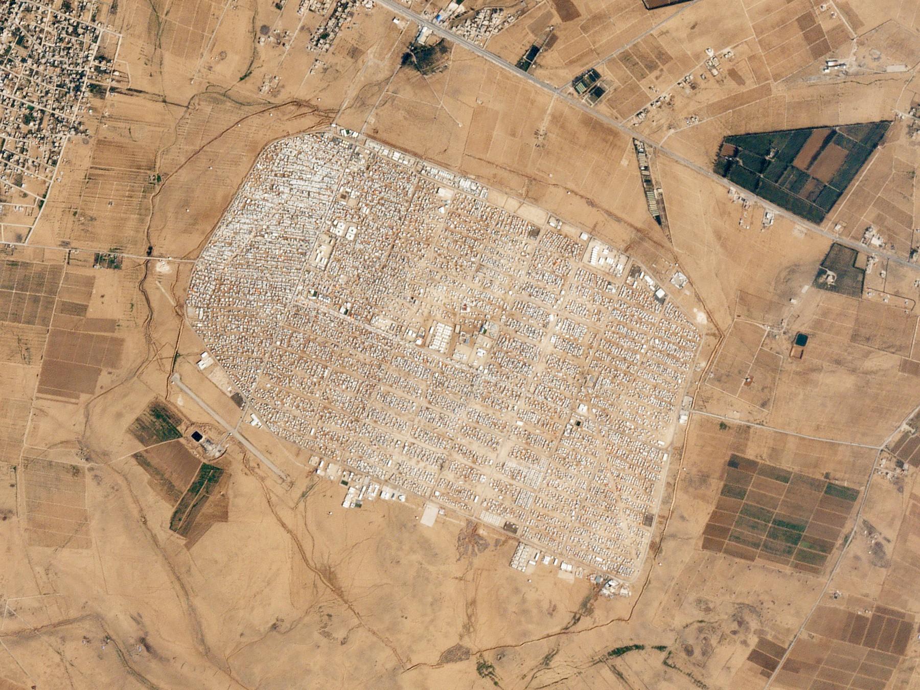 Zaatari_Refugee_Camp